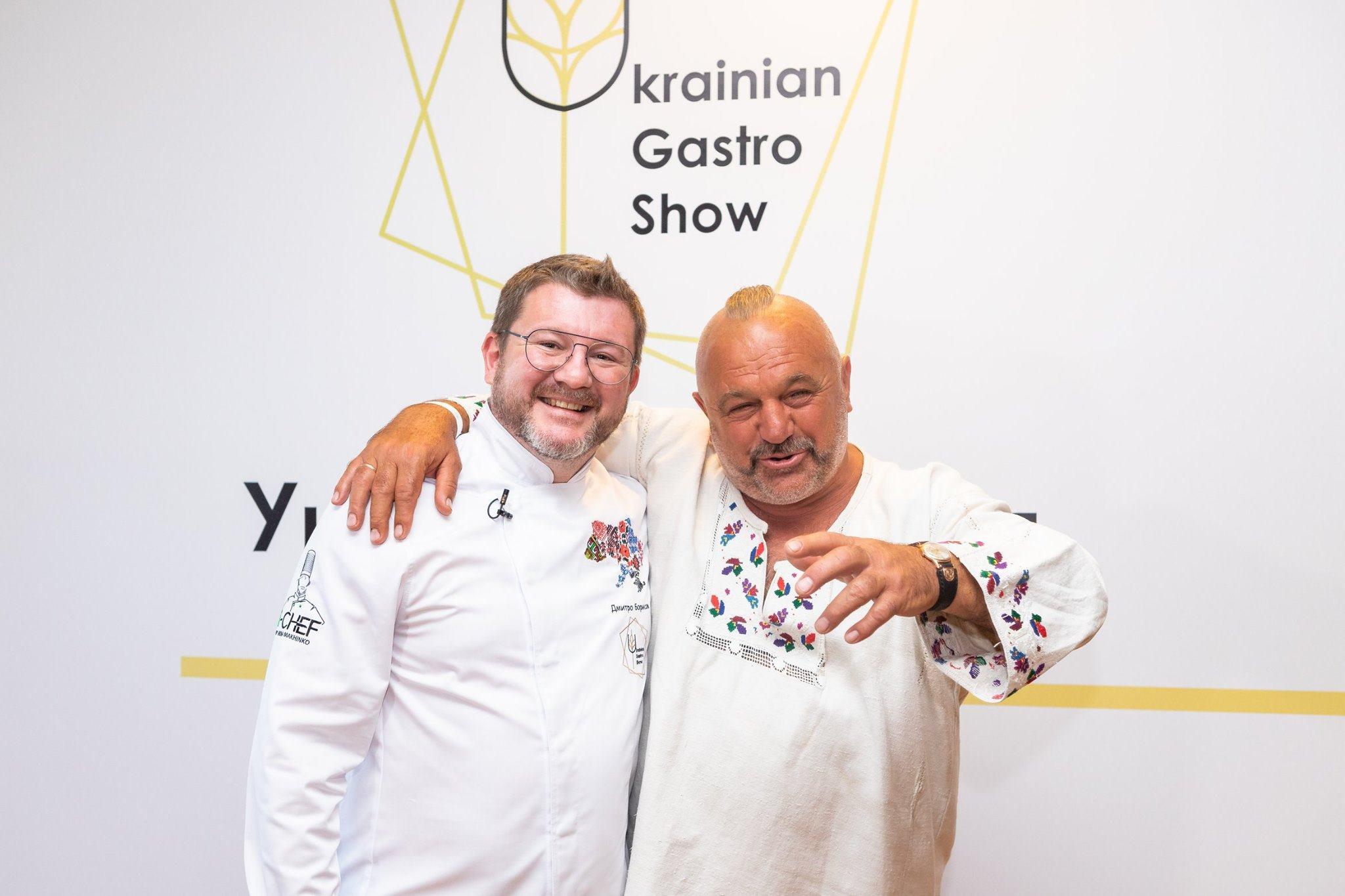 Українська кухня майбутнього: Дмитро Борисов на Ukrainian Gastro Show 2019 (ВІДЕО)